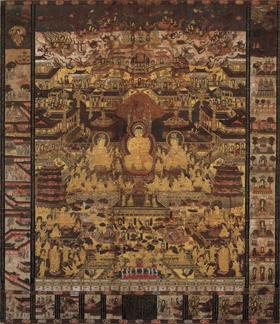 当麻曼荼羅図
