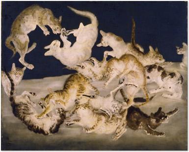 猫_1940_国立近代美術館